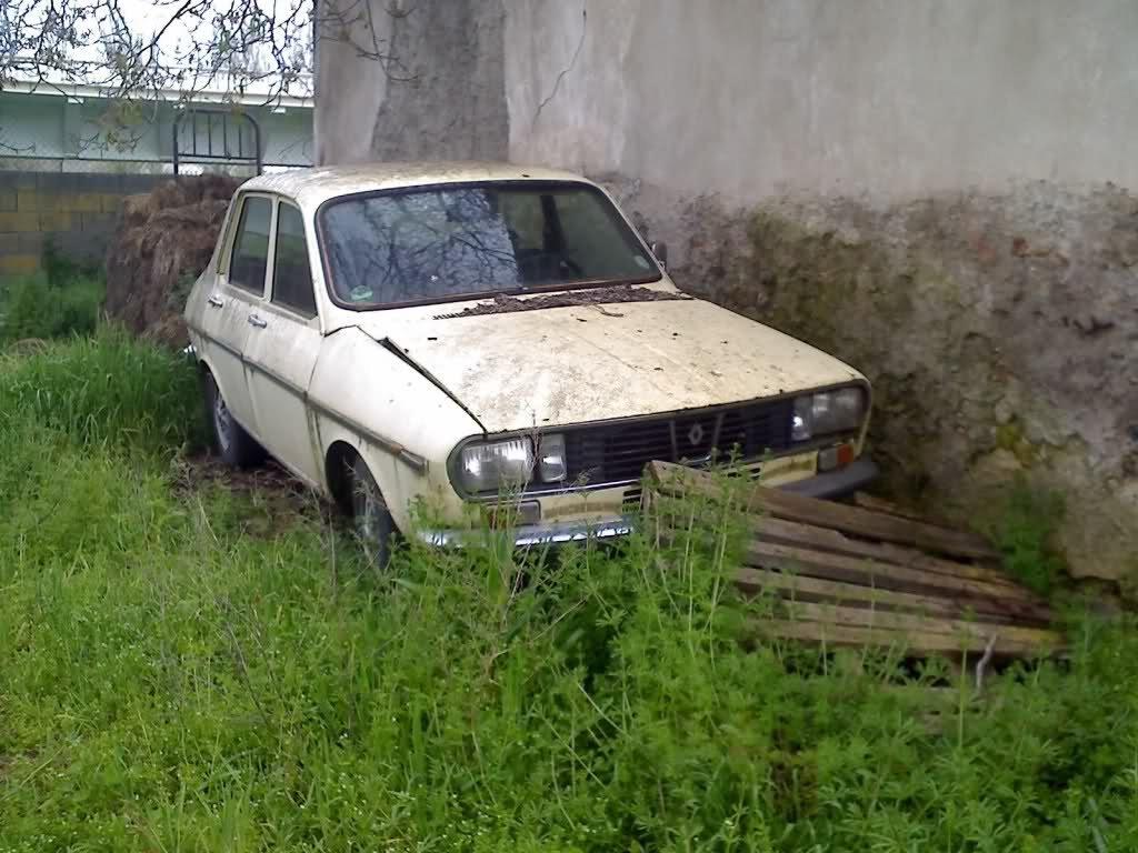 vender coche segunda mano abandonado Renault 12