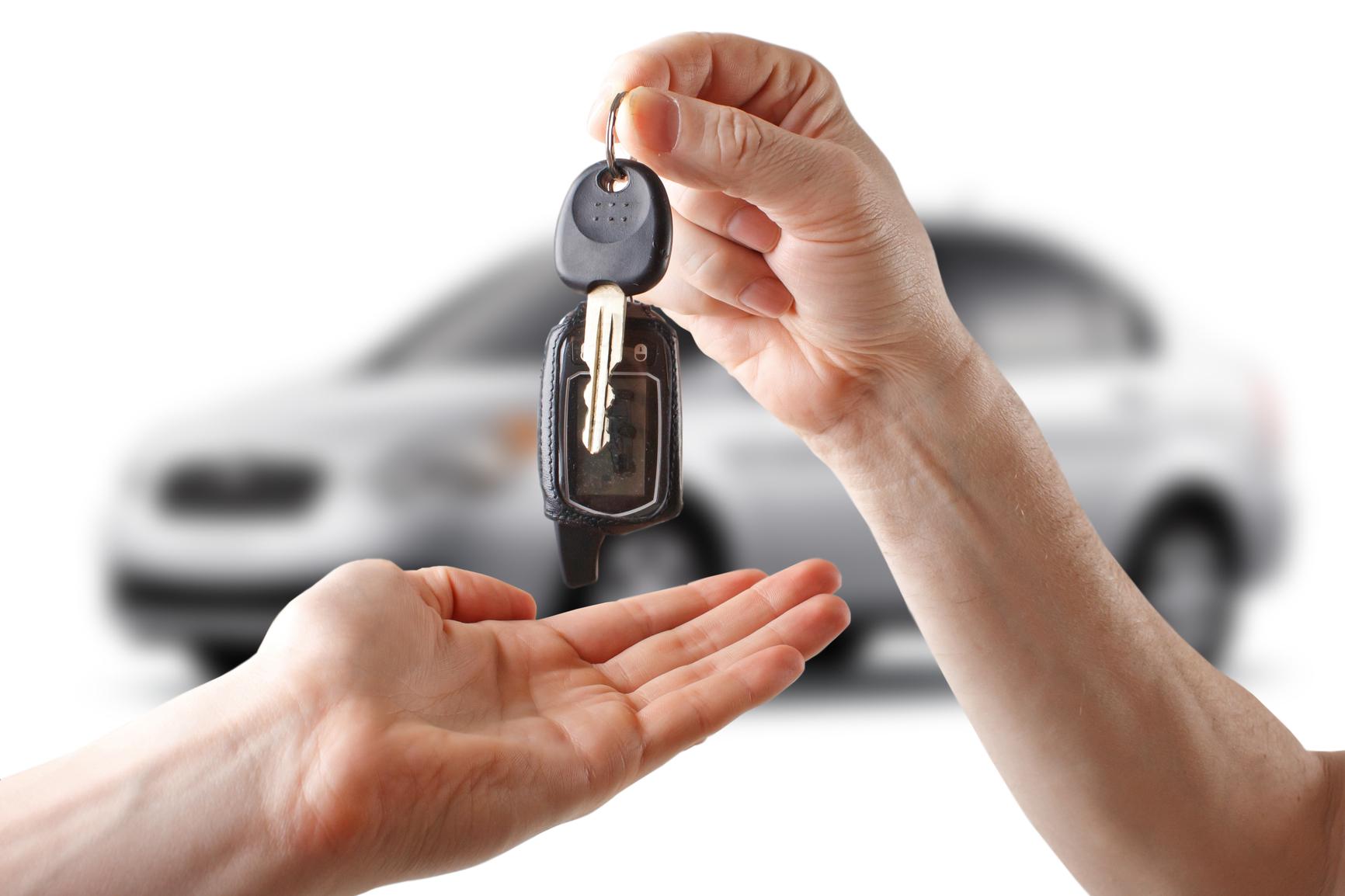 Entregar coche usado comprador